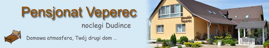 Noclegi Dudince, pensjonat Veperec